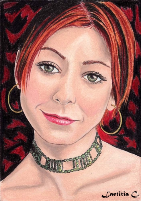 Alyson Hannigan by Laetitia